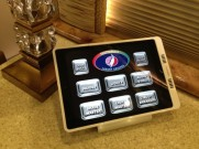 Control your bus with the push of a button with AMX control through your iPad.