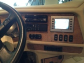 Wood grain feature added to the dash.