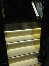 LED stepwell lights