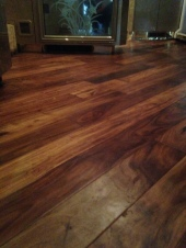 Diagonal wood floor brings a 1997 H3-45 back to life.