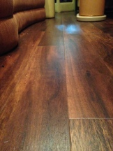 Luxury Vinyl Tile is a great substitute for wood flooring.