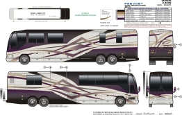 prevost paint specifications for Vantare 3-4549